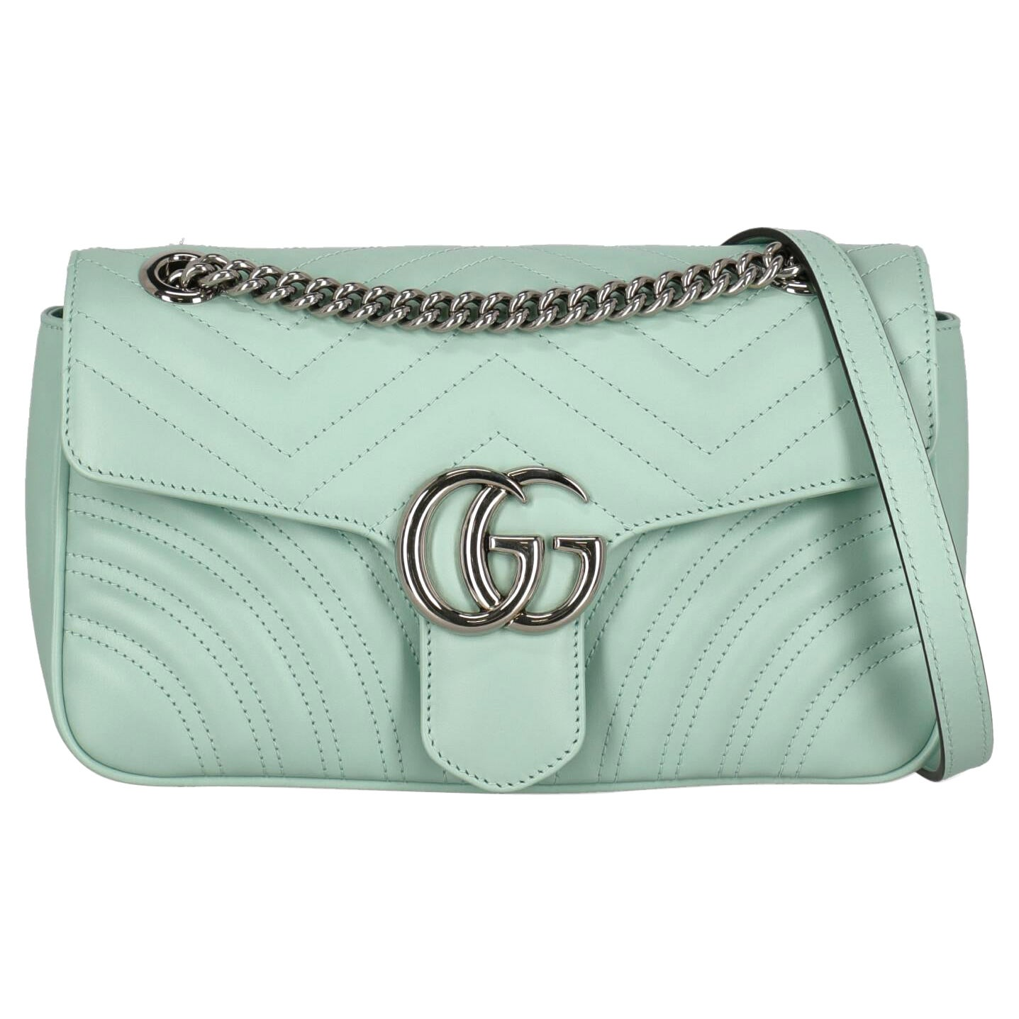 Gucci Women Shoulder bags Marmont Green Leather