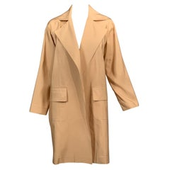 Shamask  Khaki Colored Silk Coat