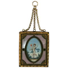 Rare 18th Century Love Token Pendant
