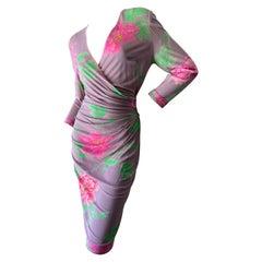 Leonard Paris Vintage 80's Silk Jersey Dress