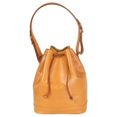 LOUIS VUITTON natural leather NOMADE NEO GM Bucket Shoulder Bag