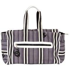 Chanel Oversize Striped Beach Bag
