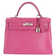 Hermès Tosca Clémence Retourne Kelly 32 PHW