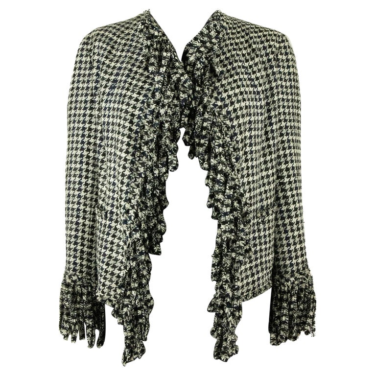 Chanel Spring 2007 Dogtooth Jacket For Sale