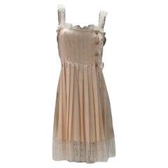 Chanel Queen of Scotland Silk Dress