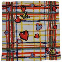 Vivienne Westwood Signature Logo Cotton Scarf