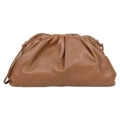 Bottega Veneta Brown Butter Leather The Mini Pouch Crossbody Bag
