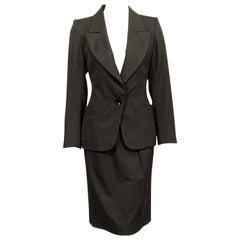 Yves Saint Laurent Vintage Le Smoking Tuxedo Suit  Never Worn YSL