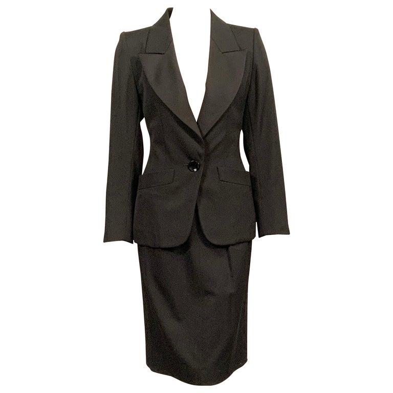 Yves Saint Laurent Vintage Le Smoking Tuxedo Suit  Never Worn YSL For Sale