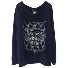 Chanel Logo Lion Cashmere Sweater