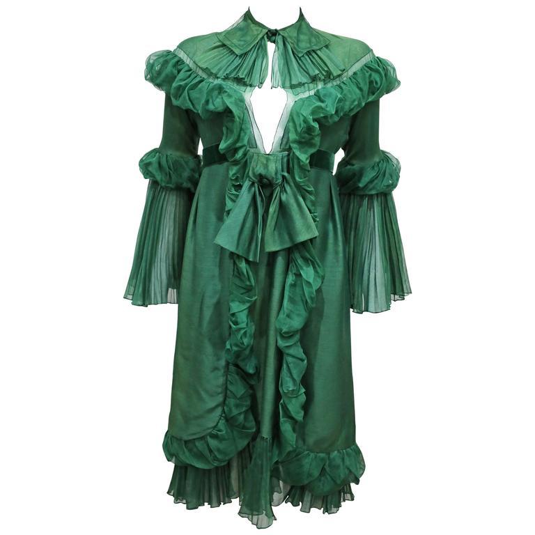 Yves Saint Laurent by Stefano Pilati Met Gala Evening Dress, c. 2005