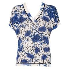 1980s Krizia Multicolor Knit Top