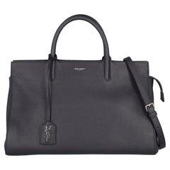 Saint Laurent  Women Handbags   Navy Leather