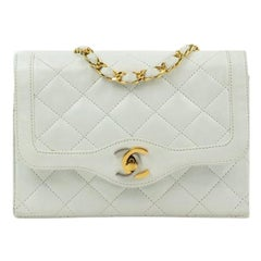 Chanel, Vintage in white leather