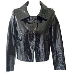 3.1 Philip Lim Patent Leather Jacket (S)