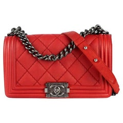 Chanel, Boy in red leather