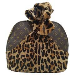 Louis Vuitton Limited Edition Leopard Print Centenaire Alma bag by Alaïa, 1996