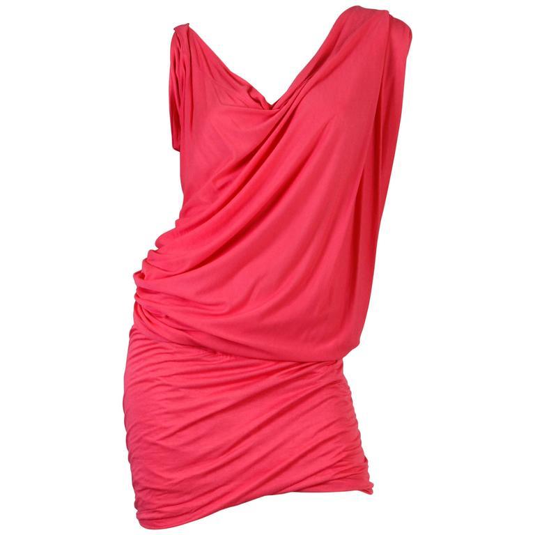 Vivenne Westwood Slinky Jersey Dress For Sale