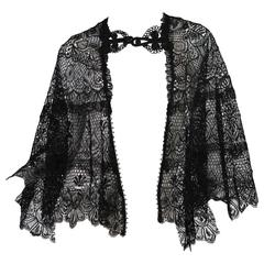 Victorian French Lace Cape