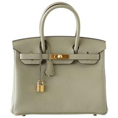 hermes kelly 35 bag fresh menthe green gold hardware very rare