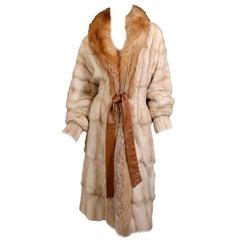 Tom Ford for Yves Saint Laurent fur coat