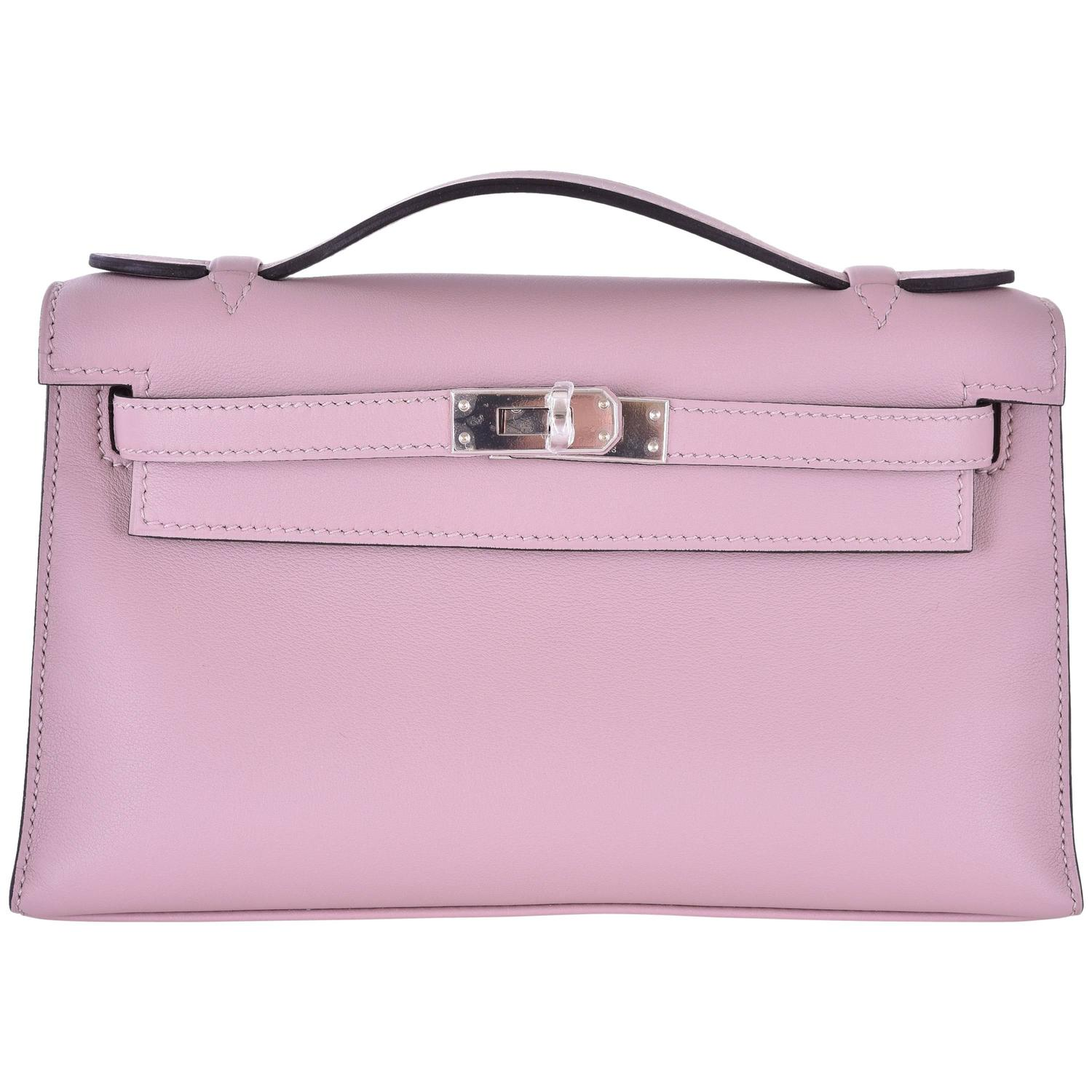 hermes sapphire mini kelly pochette palladium hardware janefinds