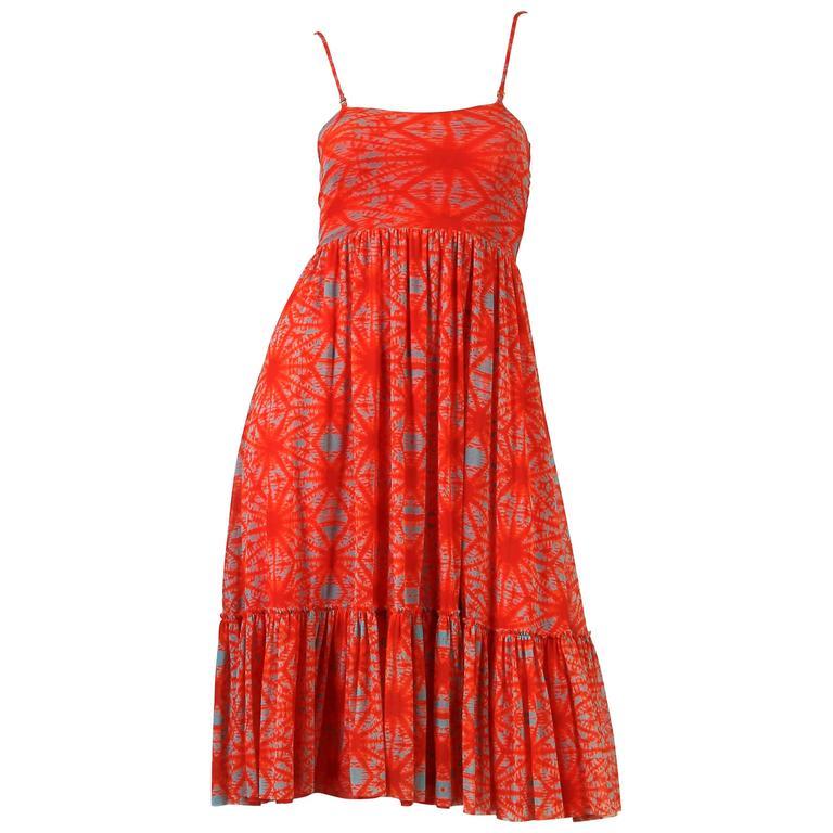 Jean Paul Gaultier The-Dye Mesh Dress