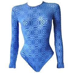 Gianni Versace Coupe des Velours Punk Collection Body Suit