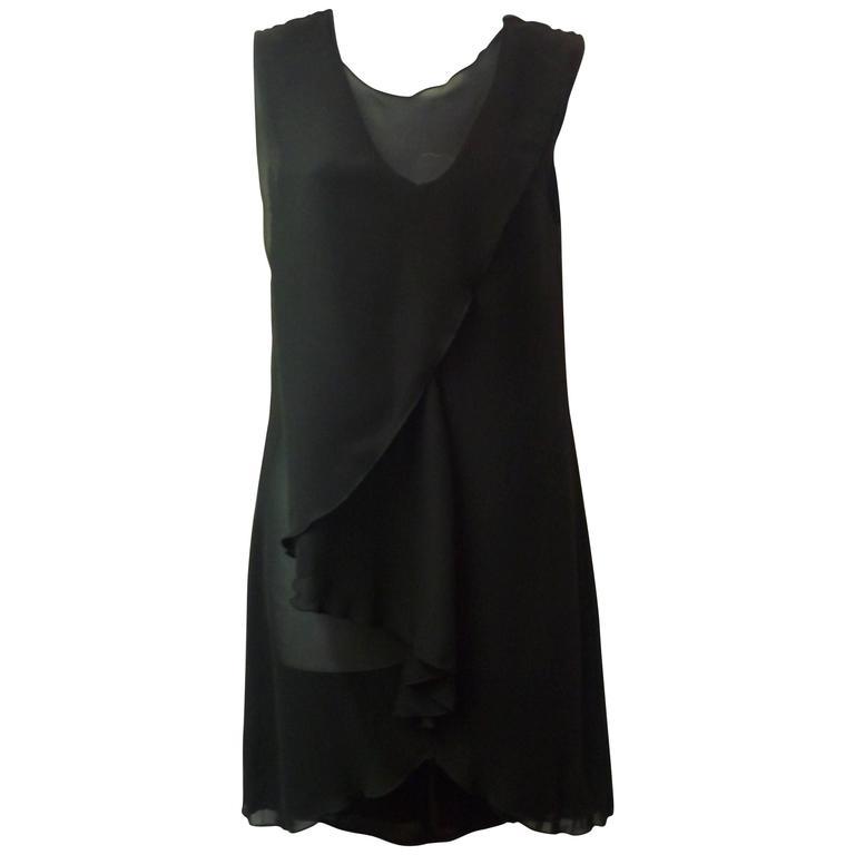 Alexander McQueen Draped Tunic / Mini Dress, 2013