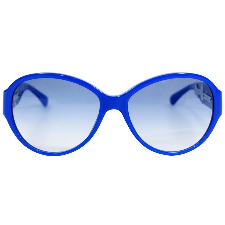Chanel Royal Blue Sunglasses 1