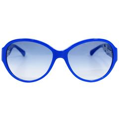 Chanel Royal Blue Sunglasses