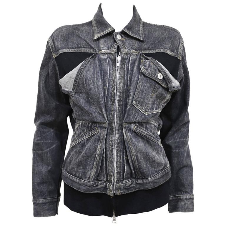 Yohji Yamamoto deconstructed denim jacket, c. 1990s