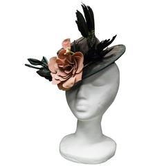 1940s Toy Floral Hat