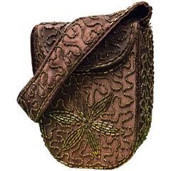 1940s Beaded Handbag