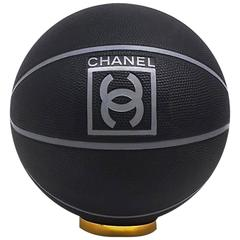 "NEW ✿*゚"" COLLECTOR'S "" CHANEL  Sport Basketball Ball Never Used w. Duster Bag"
