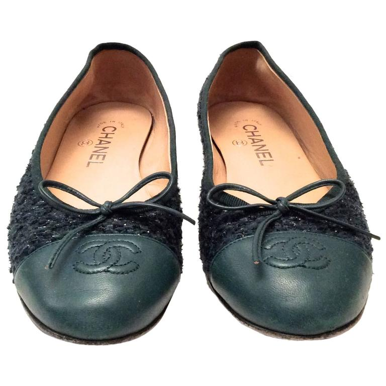 Chanel Ballerina Flats - Size 38