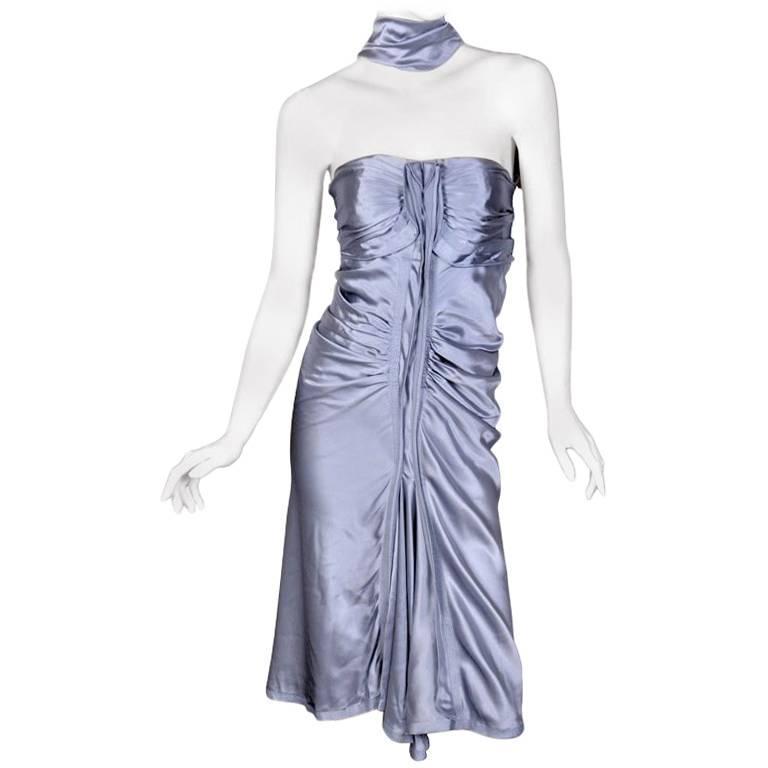 Tom Ford for Yves Saint Laurent Silk Dress