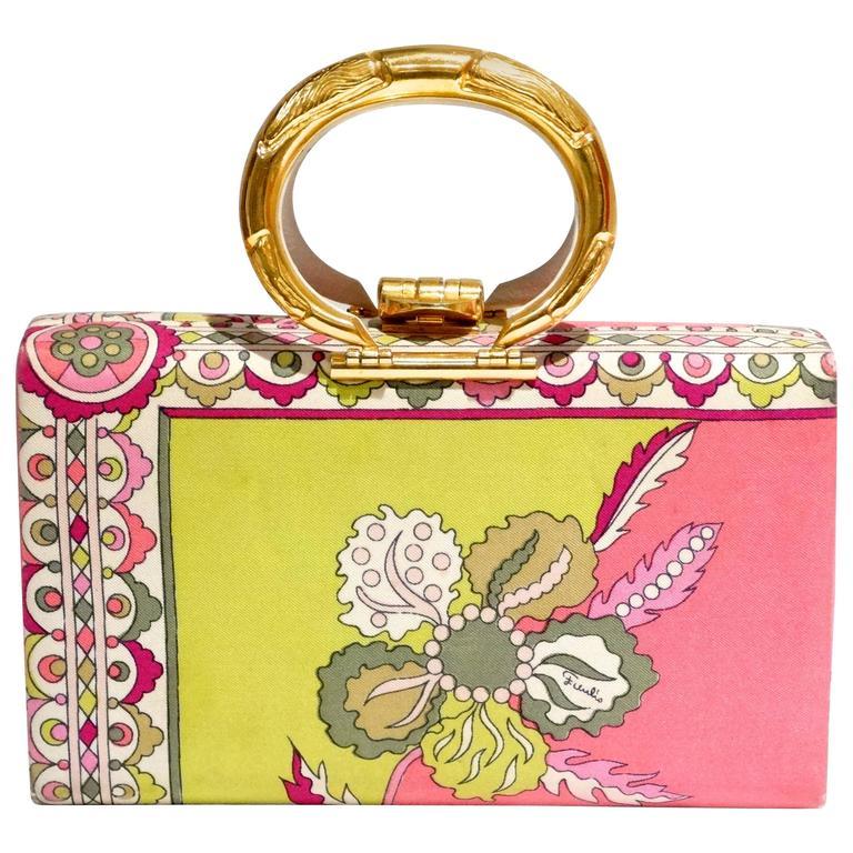 1960s Emilio Pucci Box Handbag 1