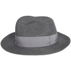 Hermes Sun Hat Panama Grey Size 59