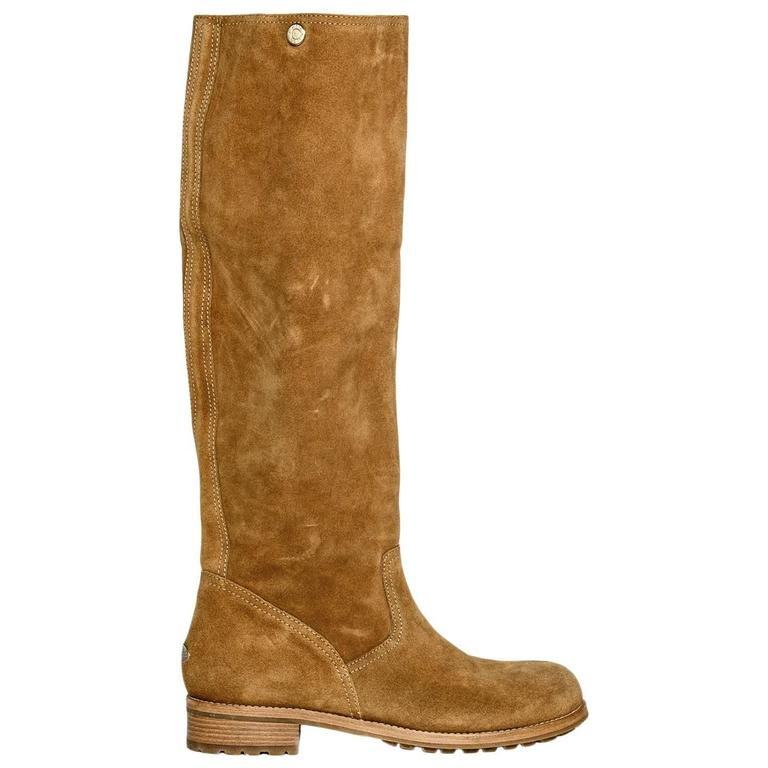 Jimmy Choo Brown Suede Knee Height Boot