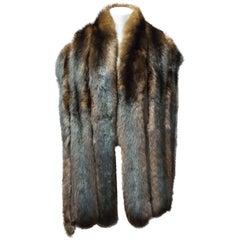 1960s Sable Fur Stole