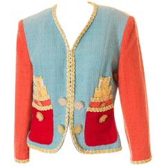 Moschino Cheap and Chic Boucle Jacket
