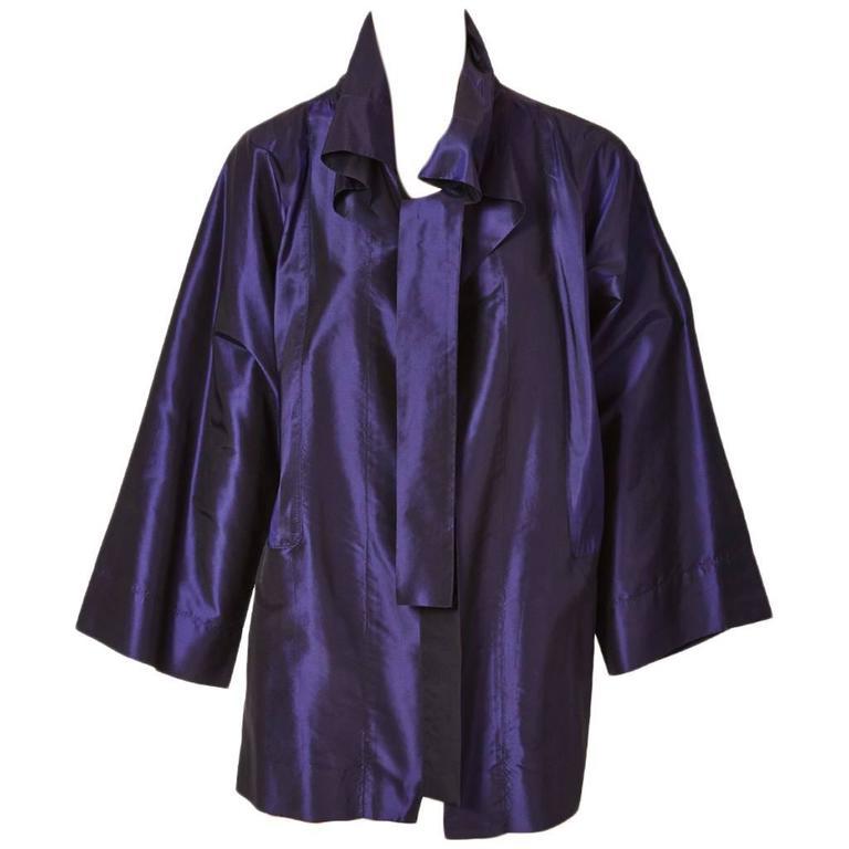 Shamask Iridescent Taffeta Evening Jacket