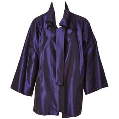 Shamask Iridescent Taffeta Evening Jacket