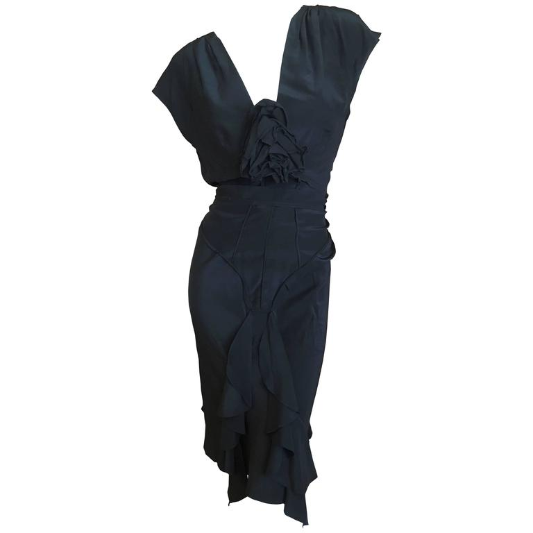 tom ford for yves saint laurent two piece dress for sale at 1stdibs