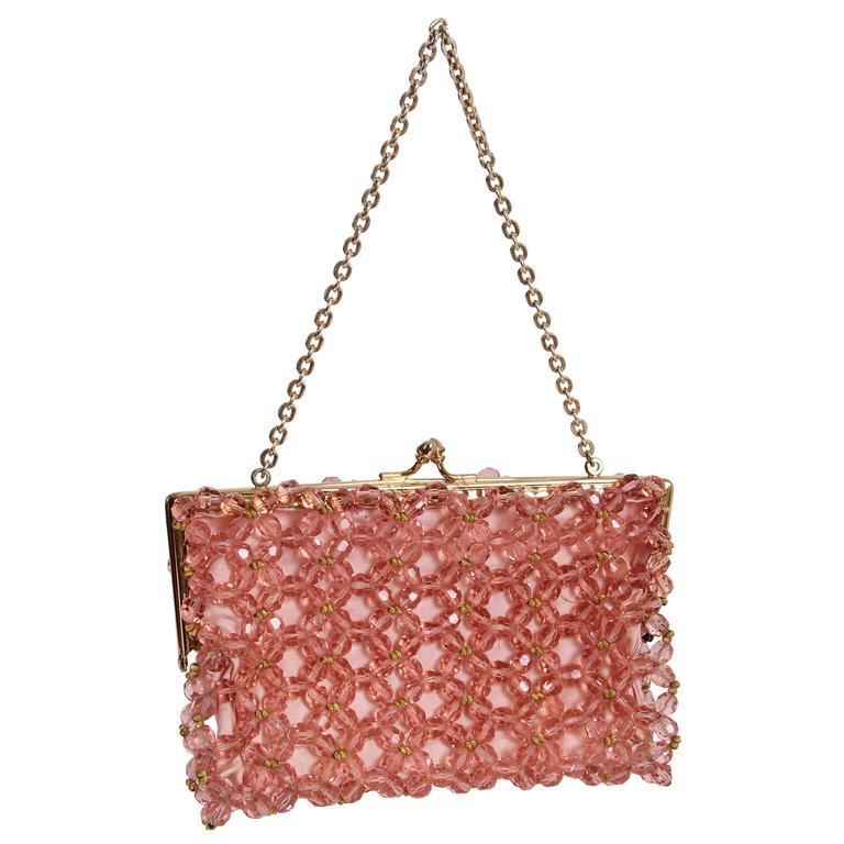 1960s Crystal Clutch from Saks
