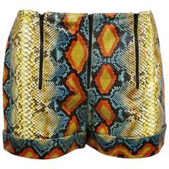 Chanel python hot pants, c. 2000