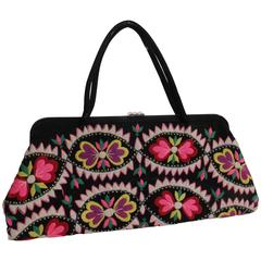 1960s Handbag made from Ethnic Embroidery
