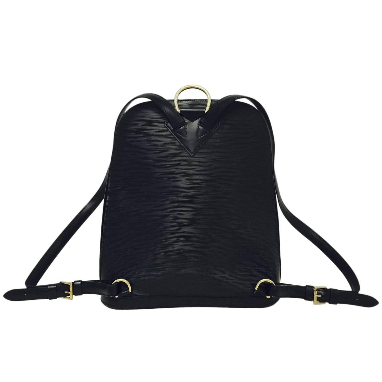 hermes black fur backpack herbag