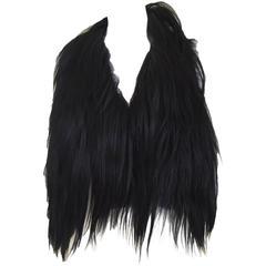 Margiela goat hair vest